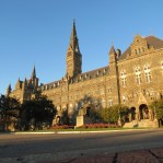 Georgetown University in Washington DC