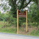 Queenstown, Maryland Sign