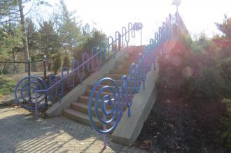 Great Adventure Playground on the Ohio River Bike Trail in Cincinnati