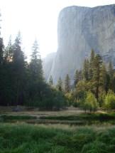 El Capitan from Yosemite Valley in Yosemite National Park