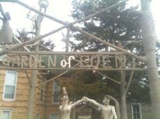 Garden of Eden in Lucas, Kansas