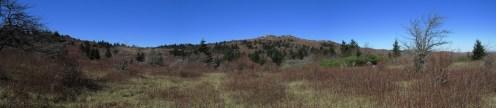 Grayson Highlands, Virginia Panorama