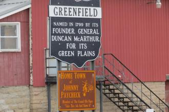 Greenfiled, Ohio Sign