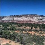 Colored Rock Outside Hanksville, Utah