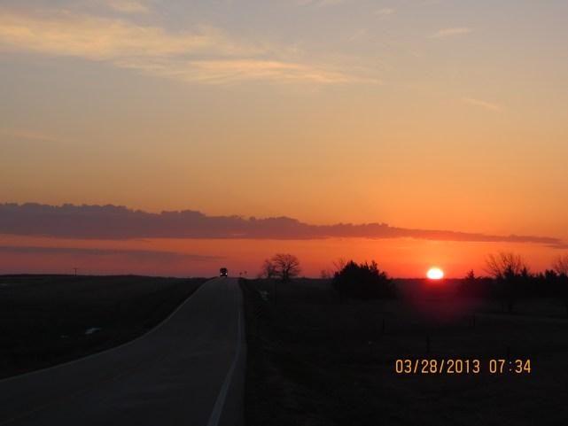 Highway-Sunrise