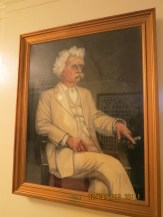Mark Twain Painting in the Jefferson City State Capital Building