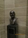 Walt Disney Bust in the Jefferson City State Capital Building