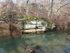 Lusk Creek Wilderness in the Shawnee National Forest