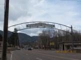 Manitou Springs, Colorado Sign