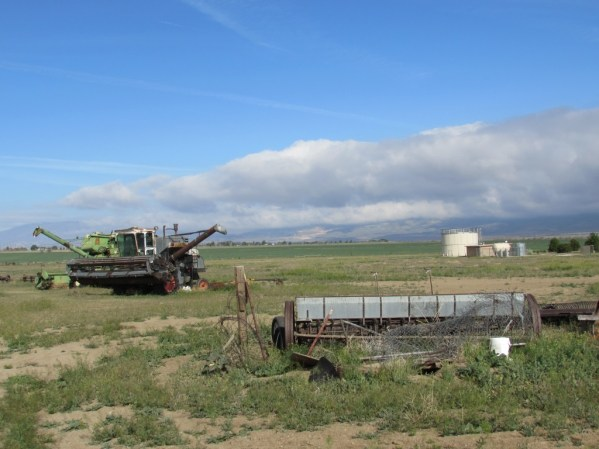 Farm Equipment in the Mojave Desert