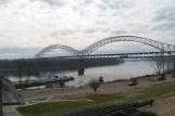 Sherman Minton Bridge in New Albany, Indiana