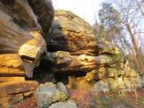 Pounds Hollow Recreation Area Cave in the Shawnee National Forest