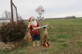 Santa Claus Statue in Santa Claus, Indiana