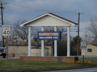 Shawneetown Sign