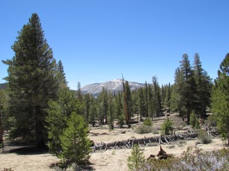 Mountain View in the South Sierra Wilderness