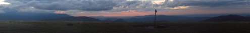 Sunset on Max Patch on the Tennessee/North Carolina Border