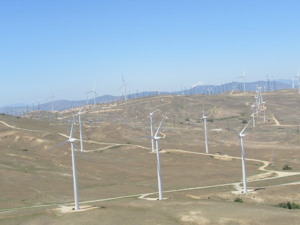 Wind Farm in Tehachapi