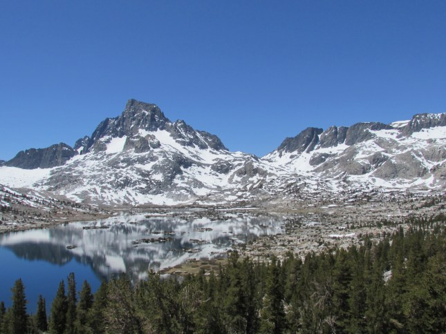 Thousand Island Lake in the Ansel Adams Wilderness,