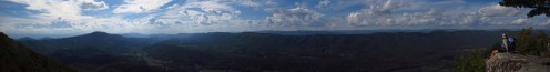 Tinker Cliffs Near Roanoke, Virginia Panorama