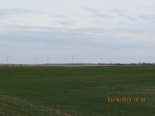 Wind Farm Outside Ellsworth, Kansas