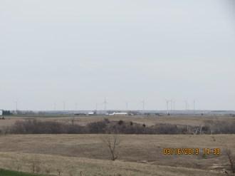 Wind Farm Outside Wilson, Kansas