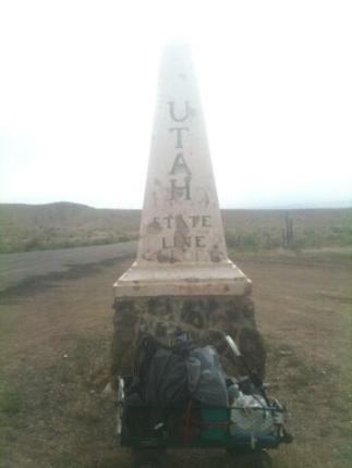 Utah State Line Monolith