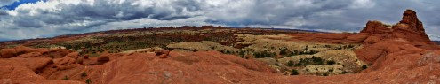 Big Spring Canyon Panorama