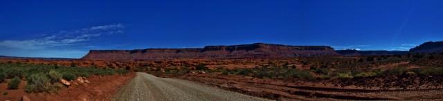 Kane Springs Road Panorama