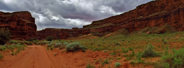 Lockhart Canyon Panorama