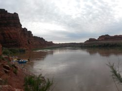 Camp in Meander Canyon on the Colorado River