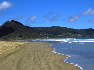 Beach in Ahipara