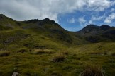 Looking up the St Arnaud Range in Nelson Lakes National Park