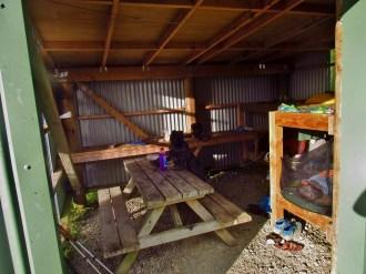 Mangatawhiri Challenge Track Hut in the Hunua Ranges