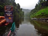 Salazon Chocolate on the Whanganui River