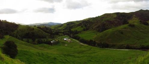 Takahue Valley Overlook Panorama