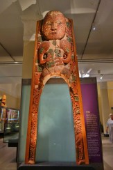 Waharoa Gateway at the Auckland Museum