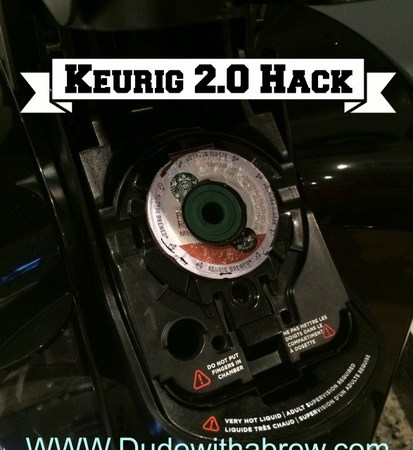 Keurig 2.0 Hack for Home Ground Coffee Filter