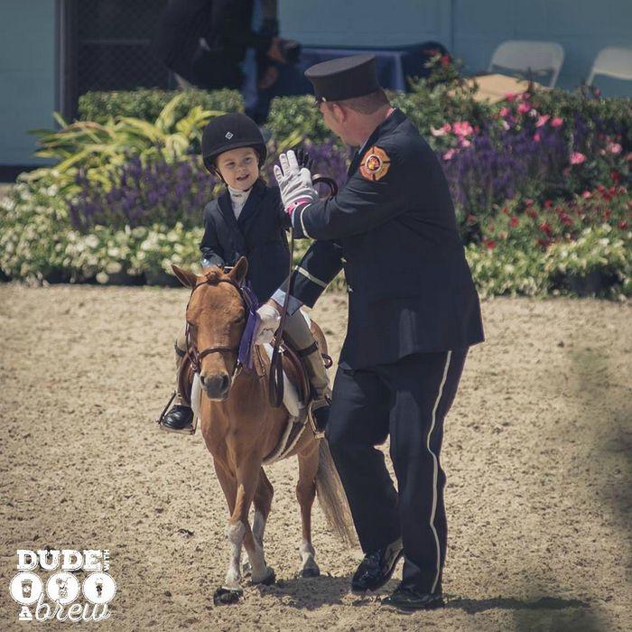 devon horse show leadline