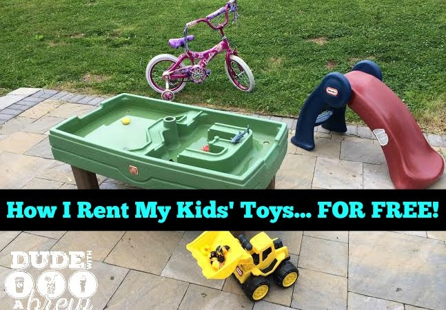 How I Rent My Kids' Toys… for FREE!!