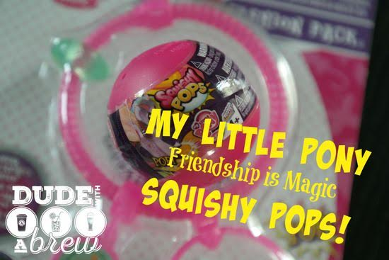 My Little Pony Friendship is Magic Squishy Pops Review