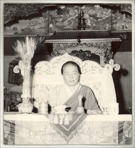 Dudjom Rinpoche Jigdral Yeshe Dorje