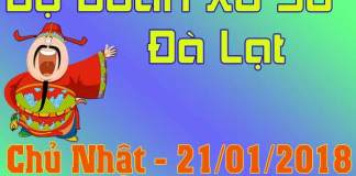 du doan xo so da lat 21/01