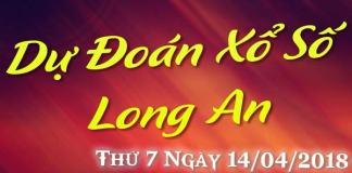 du doan xo so long an ngày 14/04