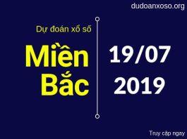 dự đoán xsmb đại phát ngày 19/7/2019