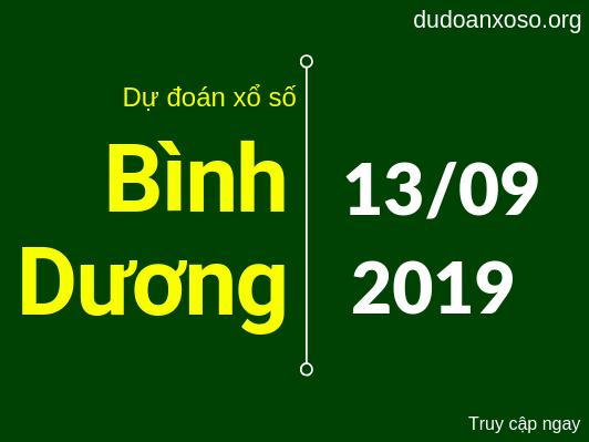 dự đoán xsbd hôm nay ngày 13/9/2019