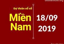 dự đoán xsmn trúng thưởng ngày 18/9/2019