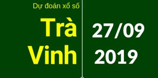 dự đoán xstv ngày 27/9/2019