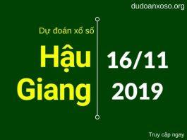 dự đoán xshg 24h ngày 16/11/2019