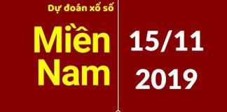 dự đoán xsmn 24h ngày 15/11/2019