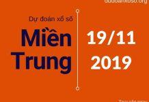dự đoán xsmt 19/11/2019